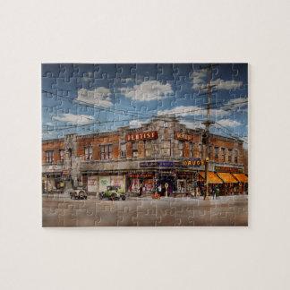 Pharmacy - The corner drugstore 1910 Jigsaw Puzzle