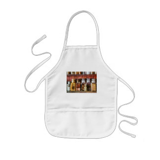 Pharmacy - The curious doctor Kids' Apron