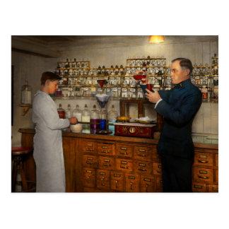 Pharmacy - The mixologist 1905 Postcard