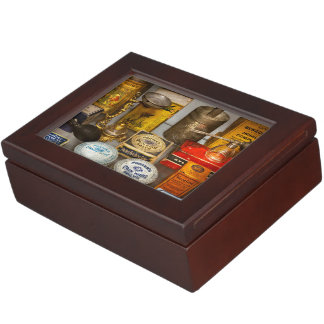 Pharmacy - The pain king Keepsake Box