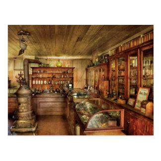 Pharmacy - Turn of the Century Pharmacy Postcard