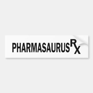 Pharmasaurasrx Bumper Stickers