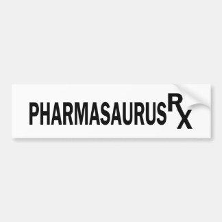 Pharmasaurasrx Car Bumper Sticker