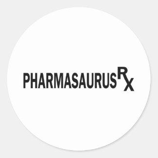 Pharmasaurasrx Round Sticker