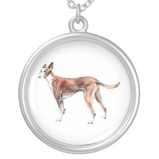 Pharoah Hound Dog Necklace