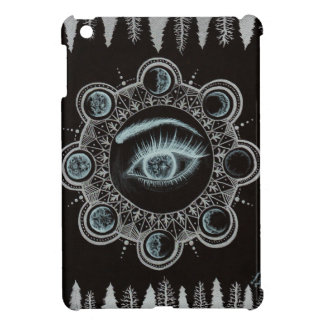 Phases of the Moon Eye iPad Mini Cases
