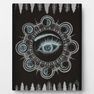 Phases of the Moon Eye Plaques