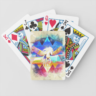 Phate-Arcynn Ahnna Jha Unicorn Bicycle Playing Cards