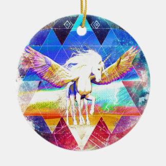 Phate-Arcynn Ahnna Jha Unicorn Ceramic Ornament