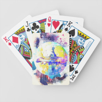 Phate-Derelict Starships Bicycle Playing Cards