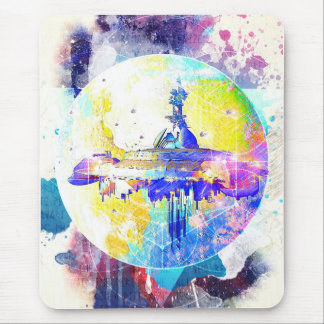 Phate-Derelict Starships Mouse Pad
