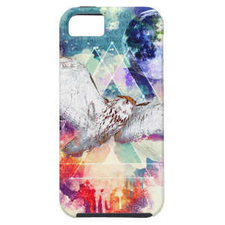 Phate-Vu Verian-The Great White Owl-Print Case For The iPhone 5