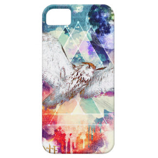 Phate-Vu Verian-The Great White Owl-Print iPhone 5 Cover