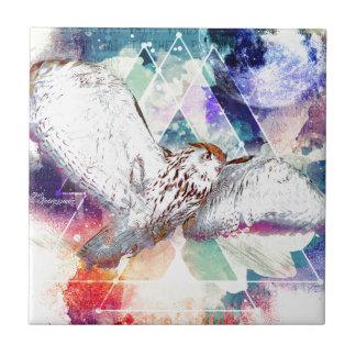 Phate-Vu Verian-The Great White Owl Tile