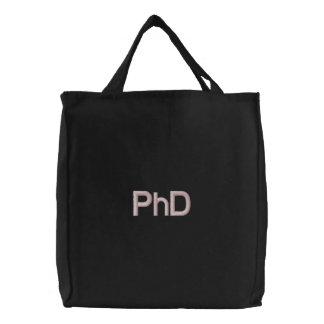 PhD Embroidered Bag