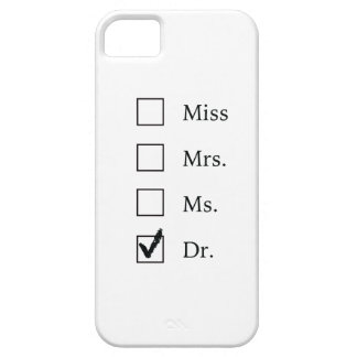 PhD gifts for women Case For The iPhone 5