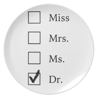 PhD gifts for women Plates