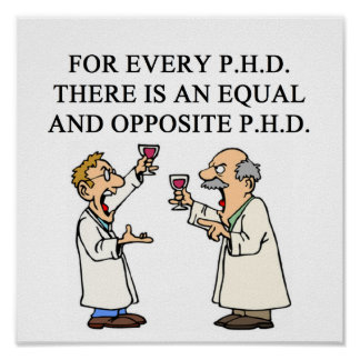 PHD proverb Poster