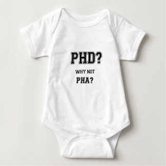 PhD? Why not PhA? High expectations Asian Father Baby Bodysuit