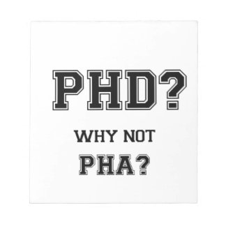 PhD? Why not PhA? High expectations Asian Father Notepads