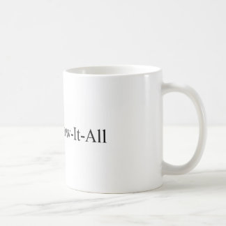 PhD women graduation, Dr Know-It-All Mug