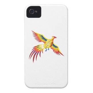 Pheasant Bird Fowl Flying retro Case-Mate iPhone 4 Cases