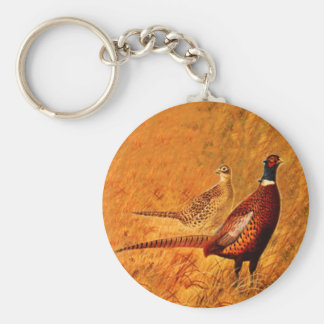 Pheasant Bird Nature Wildlife Keychain