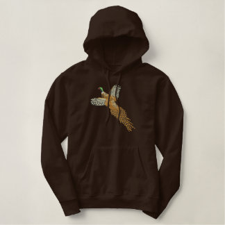 Pheasant Embroidered Hoody