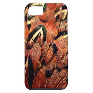 Pheasant Feathers Tough iPhone 5 Case