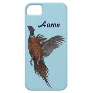 Pheasant in Flight iphone / ipad case