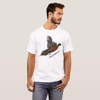 Pheasant in Flight Tee Shirt