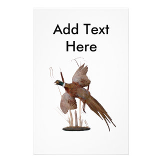 Pheasant Mount Stationery Design