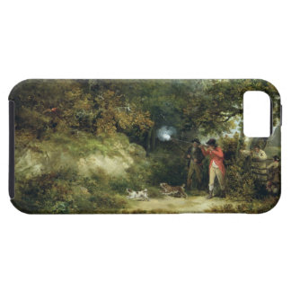 Pheasant Shooting (oil on canvas) 3 Tough iPhone 5 Case