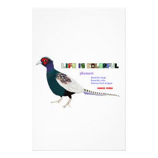 Pheasant Stationery