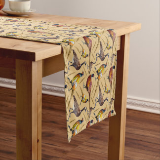 Pheasants and Geese Table Runner