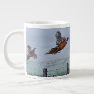 Pheasants in Flight Specialty Mug