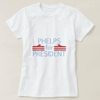 Phelps for President T-Shirt