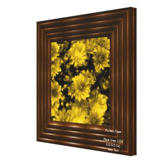 phenomenal blossoms yellow (I) Canvas Print