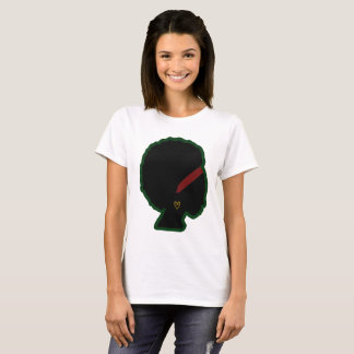 Phenomenal Woman's Natural Afro Basic T-Shirt