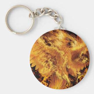 pheonix basic round button key ring