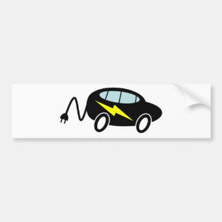 PHEV car bolt and plug Car Bumper Sticker