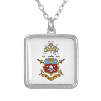Phi Delta Phi Logo Necklace