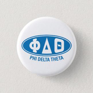 Phi Delta Theta   Vintage 3 Cm Round Badge
