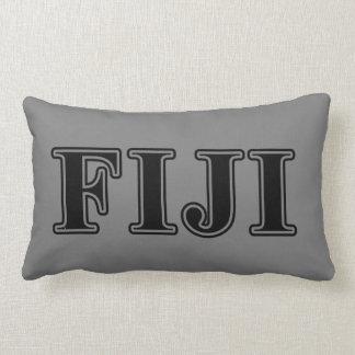 Phi Gamma Delta Black Letters Lumbar Cushion