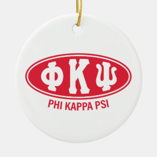 Phi Kappa Psi | Vintage Ceramic Ornament