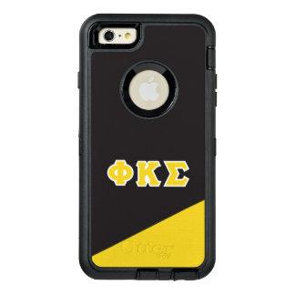 Phi Kappa Sigma   Greek Letters OtterBox Defender iPhone Case