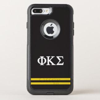 Phi Kappa Sigma   Sport Stripe OtterBox Commuter iPhone 7 Plus Case