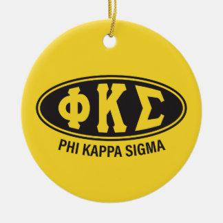 Phi Kappa Sigma | Vintage Ceramic Ornament
