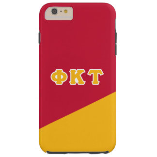 Phi Kappa Tau   Greek Letters Tough iPhone 6 Plus Case