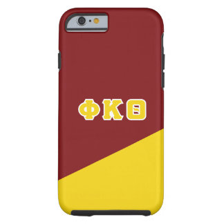 Phi Kappa Theta | Greek Letters Tough iPhone 6 Case